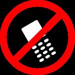 Keine Handys, keine iPads...